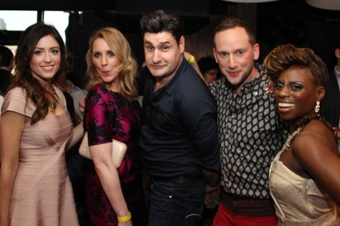 Three Housewives, a Tan Mom and Tiger Woods ex walk into a club! (The Gossip Table Premiere party)