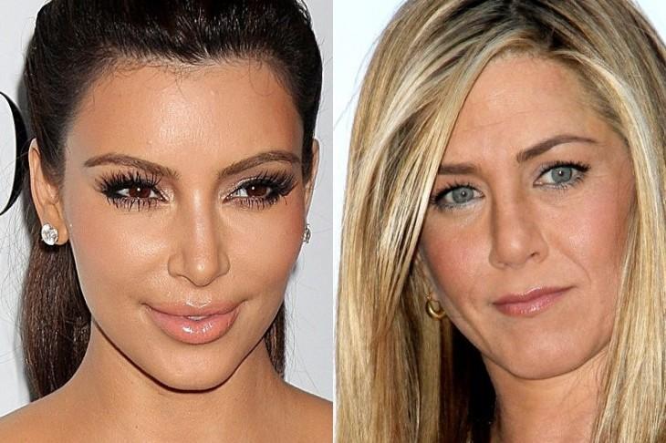 Jennifer Aniston now copying Kim Kardashiasn (wait, WHAT??)
