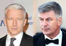 """Roseanne Barr attacks Anderson Cooper as """"a toad,"""" and defends Alec Baldwin"""