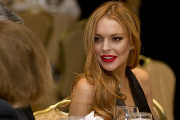 Lindsay Lohan: Stays Sober At Birthday Celebration (Oprah is watching)