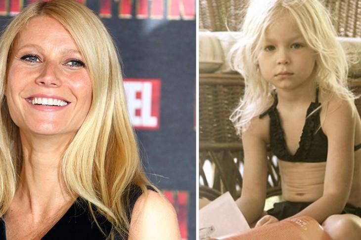 Gwyneth Paltrow Promotes Bikini's for 4-8 year-olds! ewww