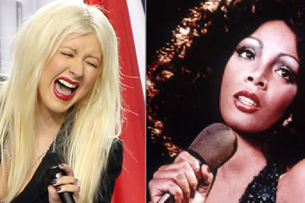 Christina Aguilera Disrespects Late Great Donna Summer At Rock Hall Of Fame