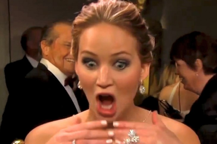Jennifer Lawrence – this isn't going to end well!