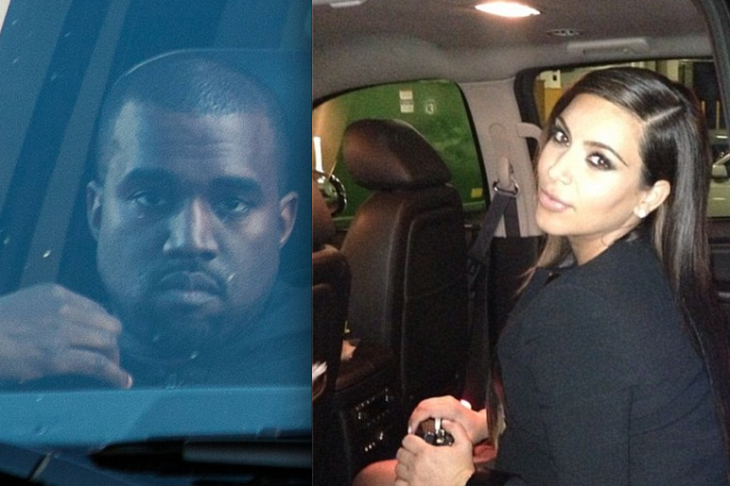Kim Kardashian and Kanye West spotted in same city (but not together)
