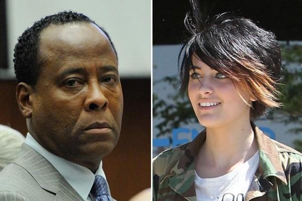 Dr. Conrad Murray leaves audio message for Michael Jackson's daughter Paris (listen to audio)
