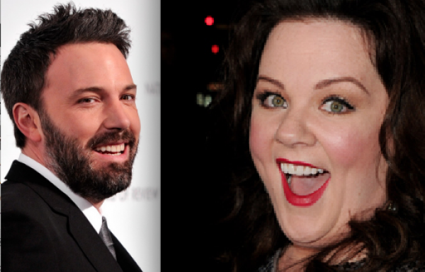 Melissa McCarthy is BFF with Ben Affleck? (Who Knew?)