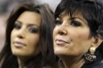 Kim Kardashian and her mom, Kris Jenner, watch Fernando Verdasco lose his quarterfinal match at the US Open