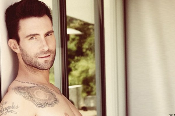 Adam Levine and Fiancé Try To Recreate Dirty Dancy Pose In Pool In Mexico (See The Sexy Pixs!)