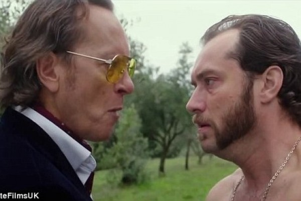 NSFW Jude Law Pics and Video!!! (He get's nakey in his new movie!!!)