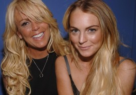 Lindsay Lohan planning a quiet Christmas with mom (like that will ever happen!)