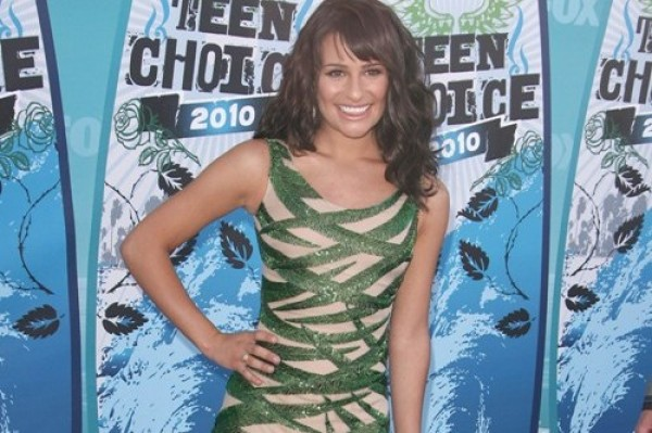 Lea Michele down to 98 pounds! (scary thin)