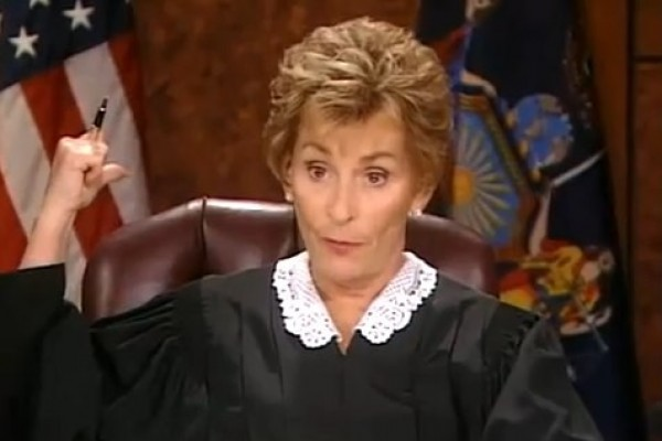 Judge Judy is SUING mad! (getting ugly)
