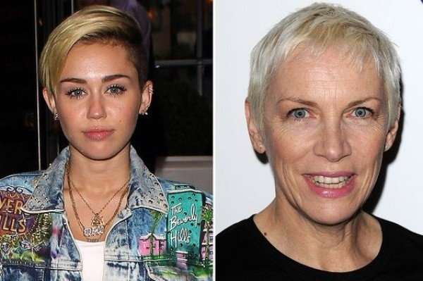 Which legendary singer has some harsh words for Miley?