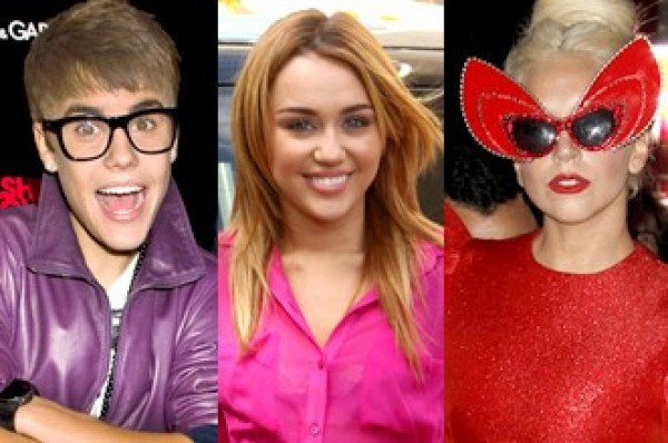 """Miley Cyrus, Justin Bieber, Paula Deen, Lady Gaga, Will Smith and Ryan Reynolds are GQ's """"Least Influential"""""""