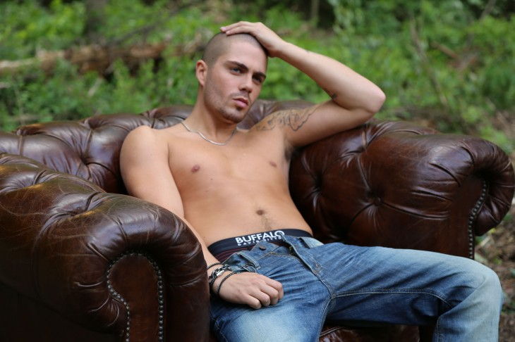 Behind The Scenes Of 'The Wanted' Max George's Half NAKED Photo Shoot