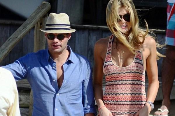 Ryan Seacrest has a new love (yes, it is a lady model)