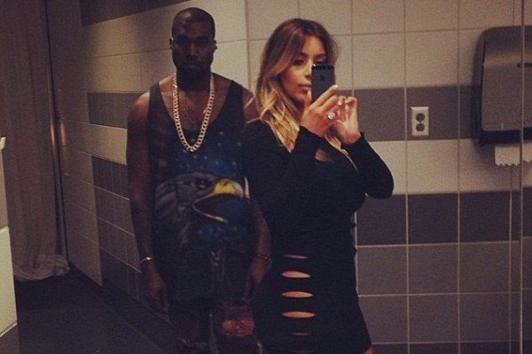 Kim Kardashian goes commando in sexy cut-out dress (see the pixs)
