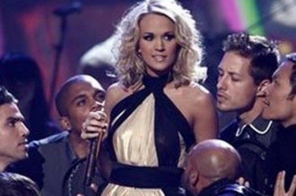 HOWLING!!! No one is allowed to touch Carrie Underwood panties!