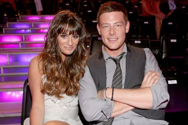 Lea Michelle records a song for Corey Monteith! (not sure about this)