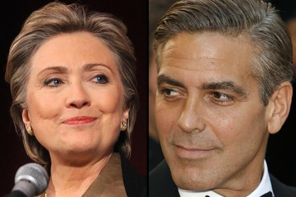 George Clooney wants Hillary Clinton in office!