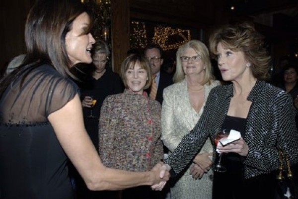 Jane Fonda was NOT happy to see former model Janice Dickinson