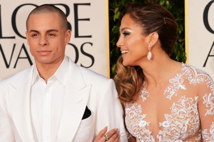 Jennifer Lopez and Casper Smart caught FIGHTING in public (look at the funny picture)