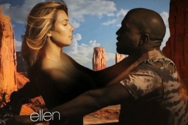 Kanye West's Epic New Video Features A Topless Kim Kardashian, Horses And Eagles (But no Kris Jenner)