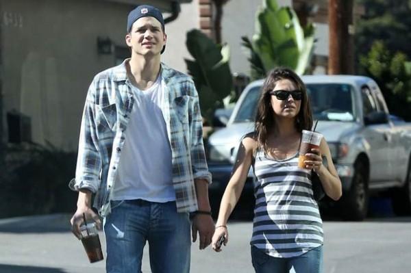 Mila Kunis and Ashton Kutcher Expecting Baby, Buzz Building