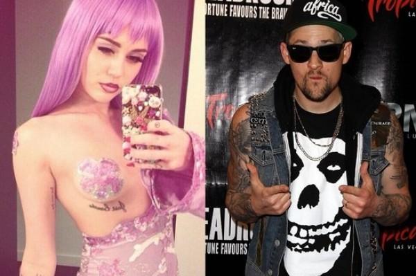 Miley Cyrus' Steamy Hook Up With Paris Hilton's Ex-Boyfriend Benji Madden