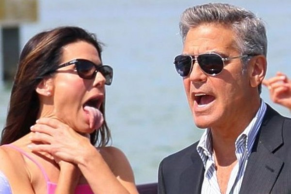 "George Clooney is not Sandra Bullock's ""cup of tea"" (ouch)"