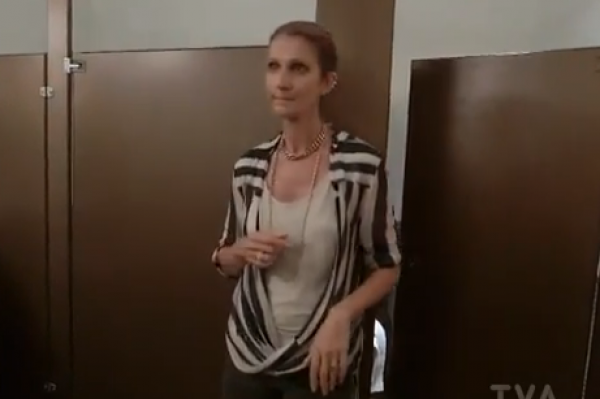 Watch Céline Dion Watching Herself – HOWLING