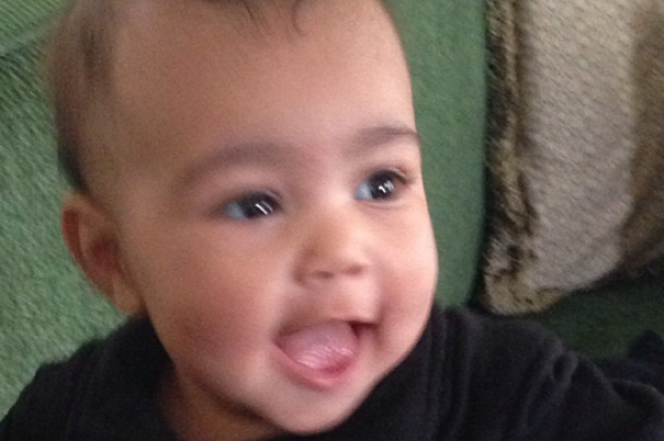 Kim Kardashian Shares Photos Of Baby North West (How much did she $$$ make?)