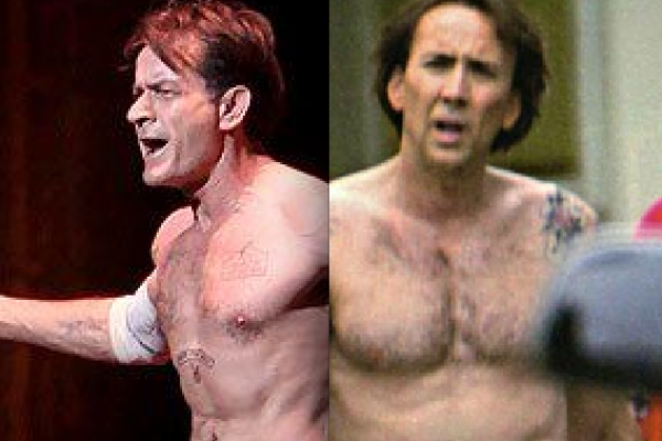 Charlie Sheen and Nicolas Cage Sex Tape Connection!