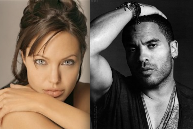 Angelina Jolie auditioned for Lenny Kravitz – and didn't get the part! (Howling)