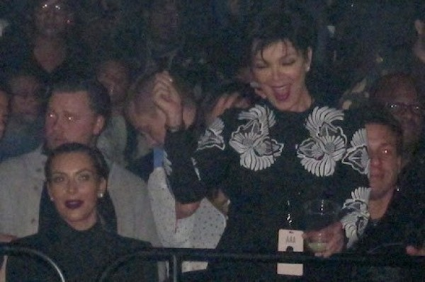 Kris Jenner caught acting like that drunk aunt (just look at her dance)