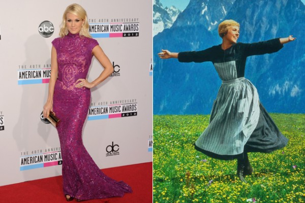 """Carrie Underwood TV """"Sound Of Music"""" Is The Broadway NOT Movie Version! (very different)"""