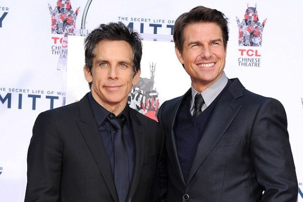 Ben Stiller and Tom Cruise are best friends (who knew?)