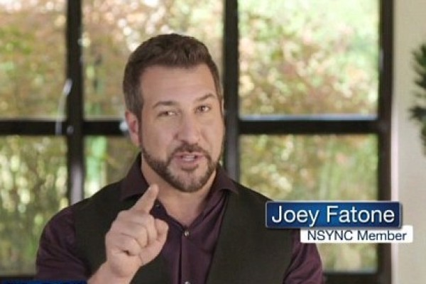 Joey Fatone is now doing hair transplant infomercials (check it out)