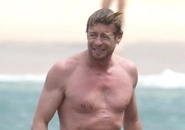 Simon Baker: The Mentalist Half Naked (you are welcome)