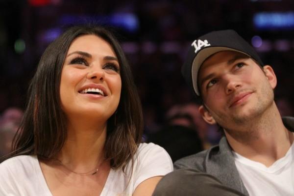 Ashton Kutcher Shares Personal Photo Of Him Mila Kunis