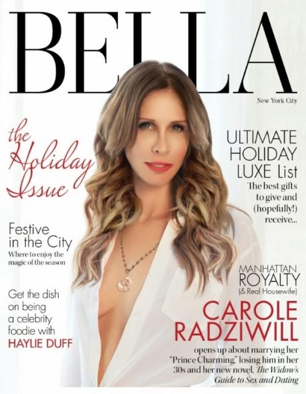 BELLA NYC november december 2013 issue carole radziwill