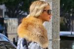 Beyonce vegan fur