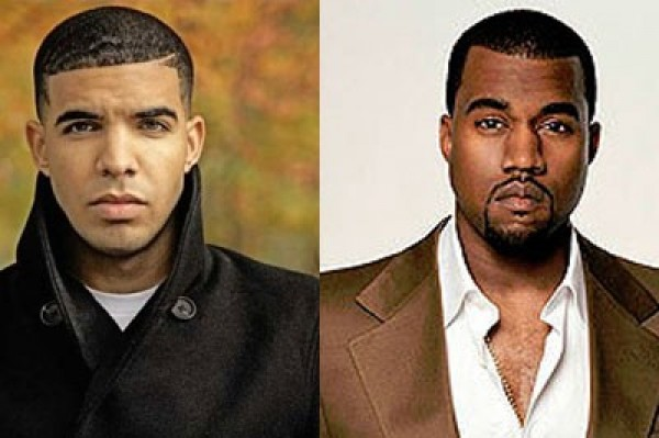 Drake Steals Kanye's Shoe Thunder (my feet are bigger than yours)