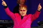 Elton John pink jacket