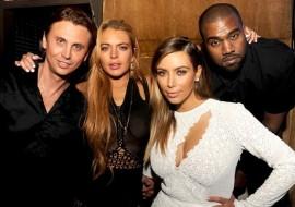 Kim Kardasian and Lindsay Lohan make up (guess who played peacekeeper?)