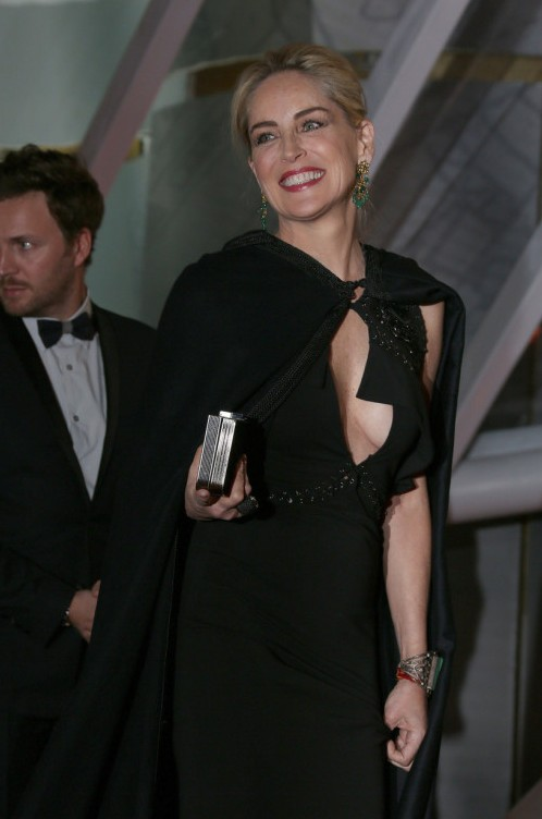 Sharon Stone attends the opening night at 13th Marrakech International Film Festival in Marrakech