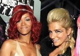 Rihanna And Ke$ha's Naughty Instagram Exchange! (HOWLING!!)