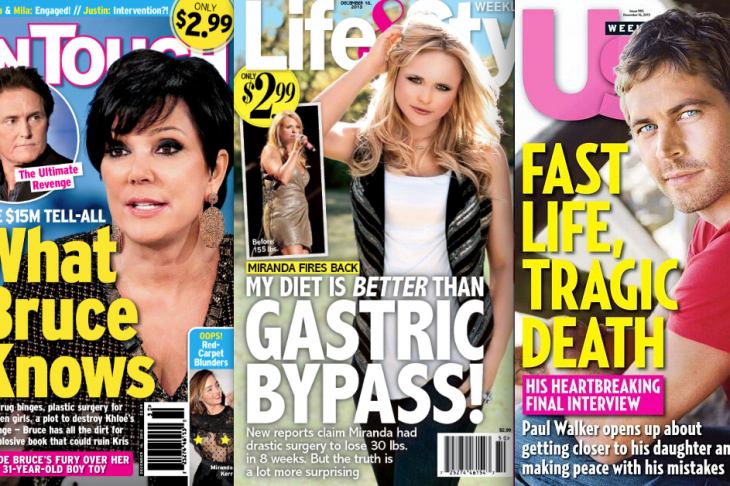Weekly Magazine Covers (I love Wednesdays, when the issues hit newsstands)