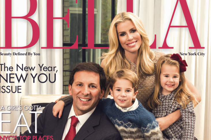 Carole Radziwill tried to stop this cover of Aviva Drescher and her beautiful family (FAILED)