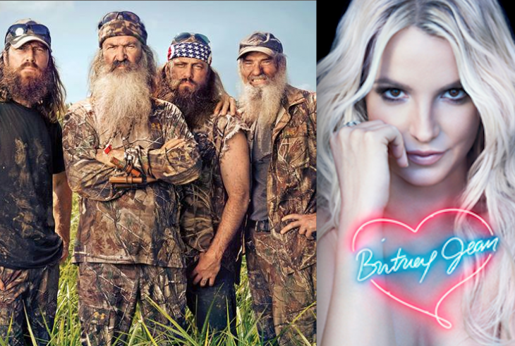 Duck Dynasty's New CD More Popular The Britney Spears'
